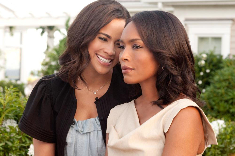 JUMPING THE BROOM, from left: Paula Patton, Angela Bassett, 2011. Ph: Jonathan Wenk/©TriStar Pictures