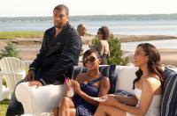 JUMPING THE BROOM, from left: DeRay Davis, Meagan Good, Paula Patton, 2011. Ph: Jonathan Wenk/©TriStar Pictures