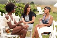 JUMPING THE BROOM, from left: Tenika Davis, Paula Patton, Meagan Good, 2011. Ph: Jonathan Wenk/©TriStar Pictures