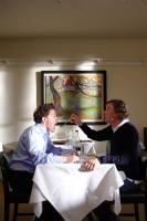 THE TRIP, l-r: Rob Brydon, Steve Coogan, 2011, ph: Phil Fisk/©IFC Films