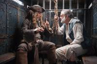PIRATES OF THE CARIBBEAN: ON STRANGER TIDES, l-r: Johnny Depp, Kevin McNally, 2011, ph: Peter Mountain/©Walt Disney Pictures