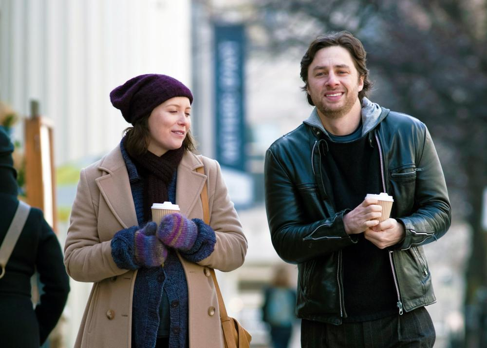 THE HIGH COST OF LIVING, from left: Isabelle Blais, Zach Braff, 2010. ©Tribeca Film