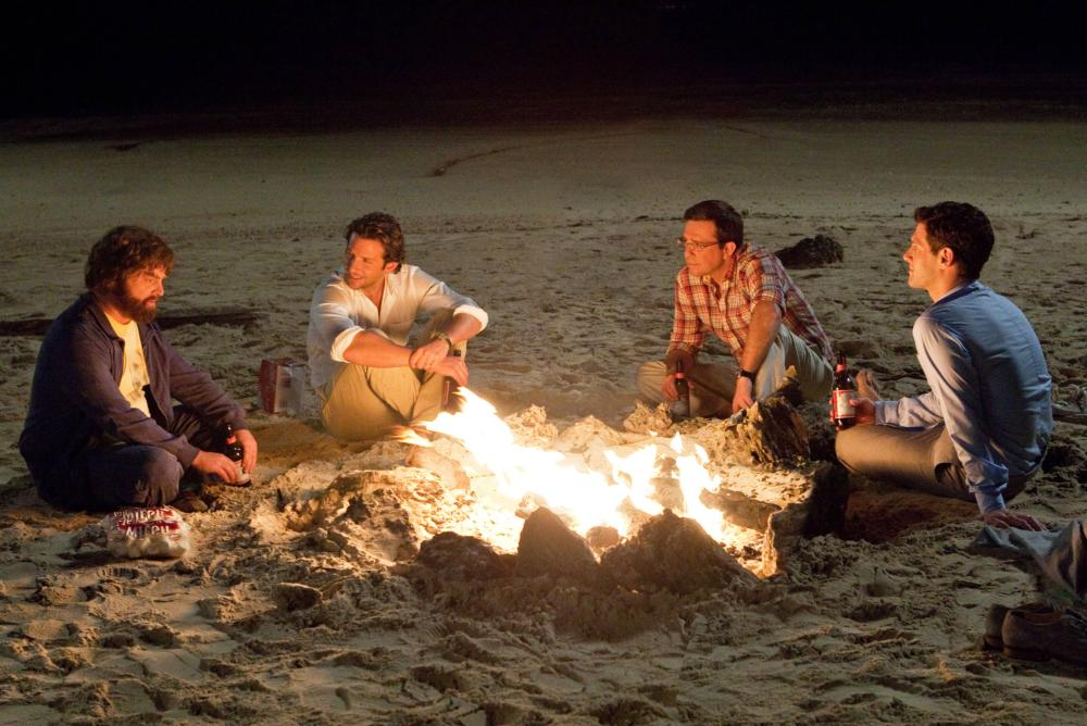 THE HANGOVER PART II, l-r: Zach Galifianakis, Bradley Cooper, Ed Helms, Justin Bartha, 2011, ph: Melinda Sue Gordon/©Warner Bros. Pictures