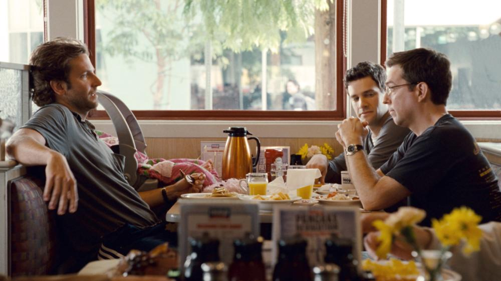 THE HANGOVER PART II, l-r: Bradley Cooper, Justin Bartha, Ed Helms, 2011, ©Warner Bros. Pictures