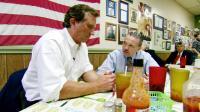 THE LAST MOUNTAIN, from left: Robert F. Kennedy Jr., Bill Raney, 2011./©Dada Films