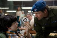 SUPER 8, from left: Zack Mills, Kyle Chandler, 2011. ph: Francois Duhamel/©Paramount Pictures