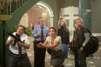 FLYPAPER, from left: Adrian Martinez, Rob Huebel, Jeffrey Tambor, Ashley Judd, Pruitt Taylor Vince, Tim Blake Nelson, Matt Ryan, 2011. ©IFC Films