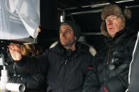 GOOD NEIGHBORS, (aka GOOD NEIGHBOURS), director Jacob Tierney (left), on set, 2010. ©Magnolia Pictures