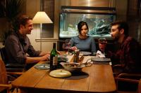 GOOD NEIGHBORS, (aka GOOD NEIGHBOURS), from left: Scott Speedman, Emily Hampshire, Jay Baruchel, 2010. ©Magnolia Pictures