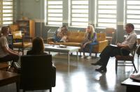 THE WARD, from left: Danielle Panabaker, Mamie Gummer, Laura-Leigh, Amber Heard, Jared Harris, 2010. ©ARC Entertainment