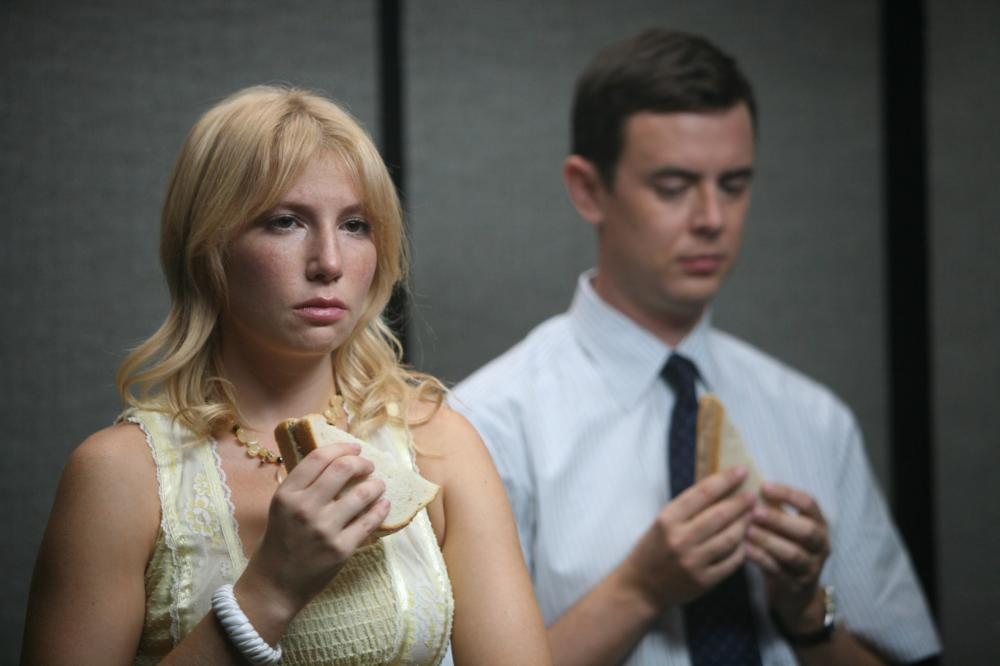 LUCKY, from left: Ari Graynor, Colin Hanks, 2011. ph: Laura A Chang/©Phase 4 Films