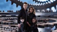 SPY KIDS: ALL THE TIME IN THE WORLD IN 4D, top, from left: Joel McHale, Jessica Alba, bottom, from left: Mason Cook, Rowan Blanchard, 2011. ©The Weinstein Company