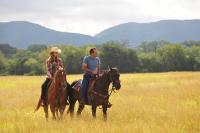 SEVEN DAYS IN UTOPIA, from left: Deborah Ann Woll, Lucas Black, 2011. ph: Van Redin/©Visio Entertainment