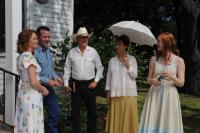 SEVEN DAYS IN UTOPIA, from left: Melissa Leo, Lucas Black, Robert Duvall, Kathy Baker, Deborah Ann Woll, 2011. ph: Van Redin/©Visio Entertainment