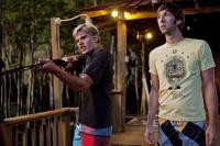 SHARK NIGHT 3D, from left: Chris Zylka, Joel David Moore, 2011. ph: Steve Dietl/©Relativity Media
