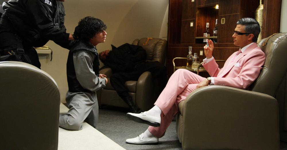 SAVING PRIVATE PEREZ, (aka SALVANDO AL SOLDADO PEREZ), Jaime Camil (right), 2011. ©Pantelion Films