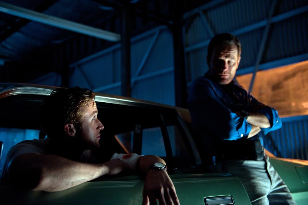 DRIVE, from left: Ryan Gosling, Bryan Cranston, 2011. ph: Richard Foreman Jr/©FilmDistric