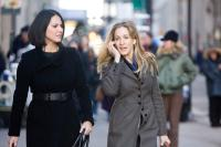 I DONT KNOW HOW SHE DOES IT, l-r: Olivia Munn, Sarah Jessica Parker, 2011, ph: Craig Blankenhorn/©The Weinstein Company