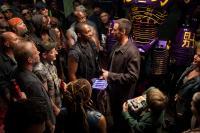 REAL STEEL, center l-r: Anthony Mackie, Hugh Jackman, 2011, ph: Melissa Moseley, ©Walt Disney Pictures