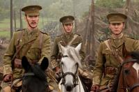 WAR HORSE, from left: Benedict Cumberbatch, Patrick Kennedy, Tom Hiddleston, 2011. ph: David Appleby/©Touchstone Pictures