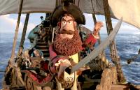 THE PIRATES! BAND OF MISFITS, Pirate Captain (voice: Hugh Grant), 2012. ©Columbia Pictures