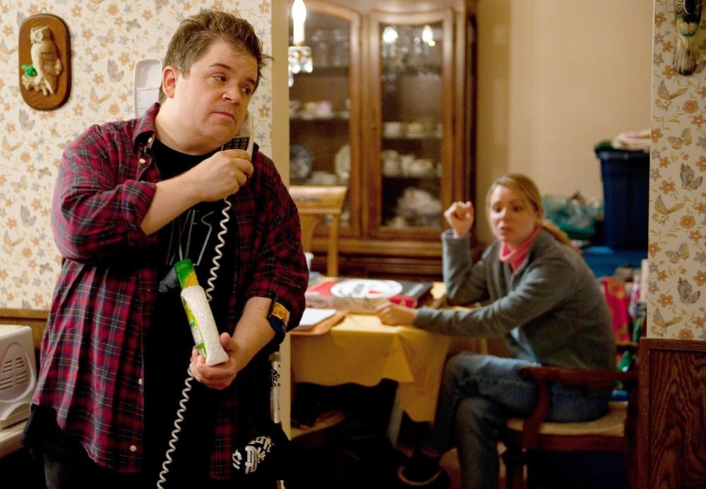 YOUNG ADULT, from left: Patton Oswalt, Collette Wolfe, 2011. ph: Phillip V. Caruso/©Paramount Pictures