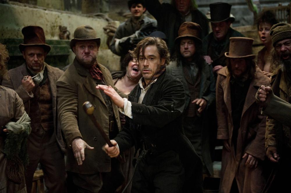 Sherlock Holmes  Downey olmes et Jude Law Watson en