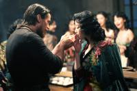 THE FLOWERS OF WAR, (aka JIN LING SHI SAN CHAI), from left: Christian Bale, Ni Ni, 2011. ©Row 1 Entertainment