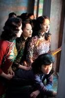 THE FLOWERS OF WAR, (aka JIN LING SHI SAN CHAI), Ni Ni (left), 2011. ©Row 1 Entertainment