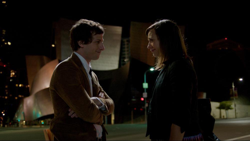 CELESTE AND JESSE FOREVER, l-r: Andy Samberg, Rashida Jones, 2012, ph: David Lanzenberg