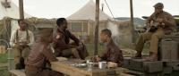 RED TAILS, from left: Ne-Yo, Elijah Kelley, Leslie Odom Jr., Michael B. Jordan, Nate Parker, 2012. Ph: Jiri Hanzl/TM and Copyright ©20th Century Fox Film Corp. All rights reserved.