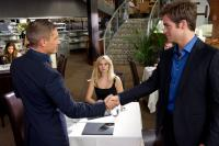 THIS MEANS WAR, from left: Tom Hardy, Reese Witherspoon, Chris Pine, 2012. ph: Kimberley French/TM and ©copyright Twentieth Century Fox Film Corporation. All rights reserved.