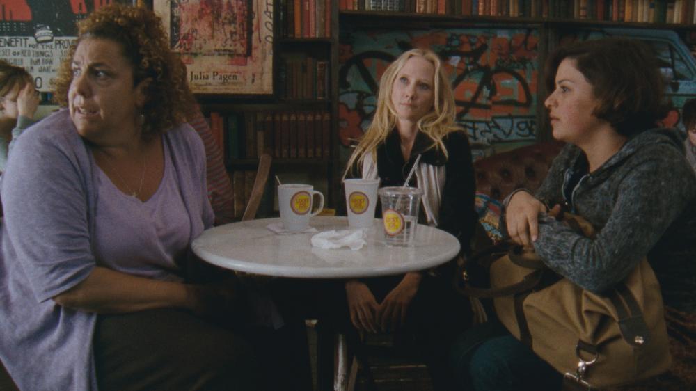 THAT'S WHAT SHE SAID, l-r: Marcia DeBonis, Anne Heche, Alia Shawkat, 2012.