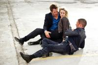 THIS MEANS WAR, from left: Chris Pine, Reese Witherspoon, Tom Hardy, 2012. ph: Kimberley French/TM and copyright ©20th Century Fox Film Corporation. All rights reserved