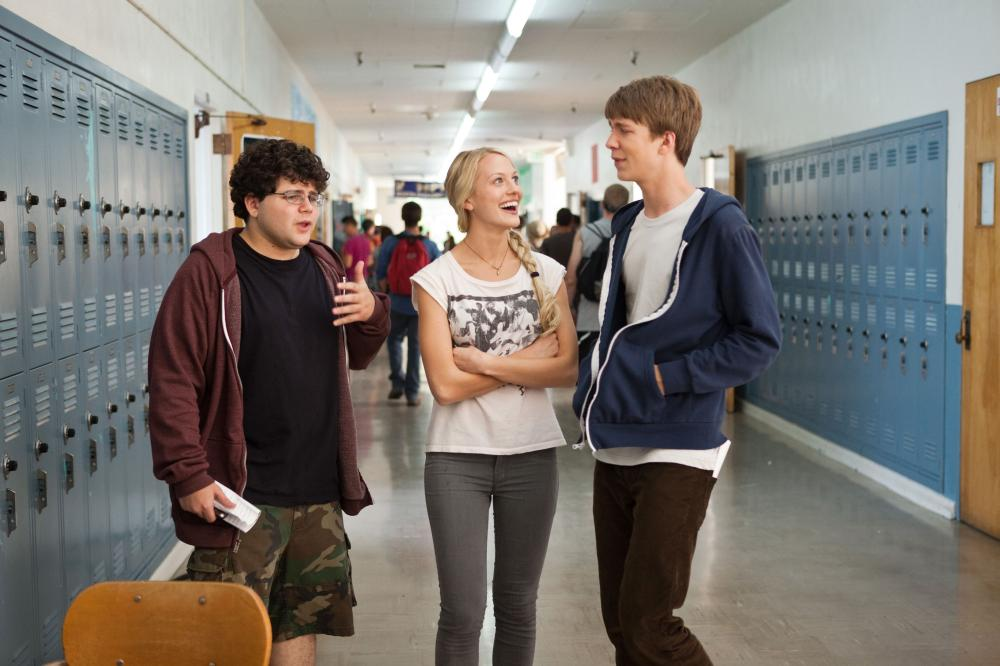 PROJECT X, l-r: Jonathan Daniel Brown, Kirby Bliss Blanton, Thomas Mann, 2012, ©Warner Bros. Pictures