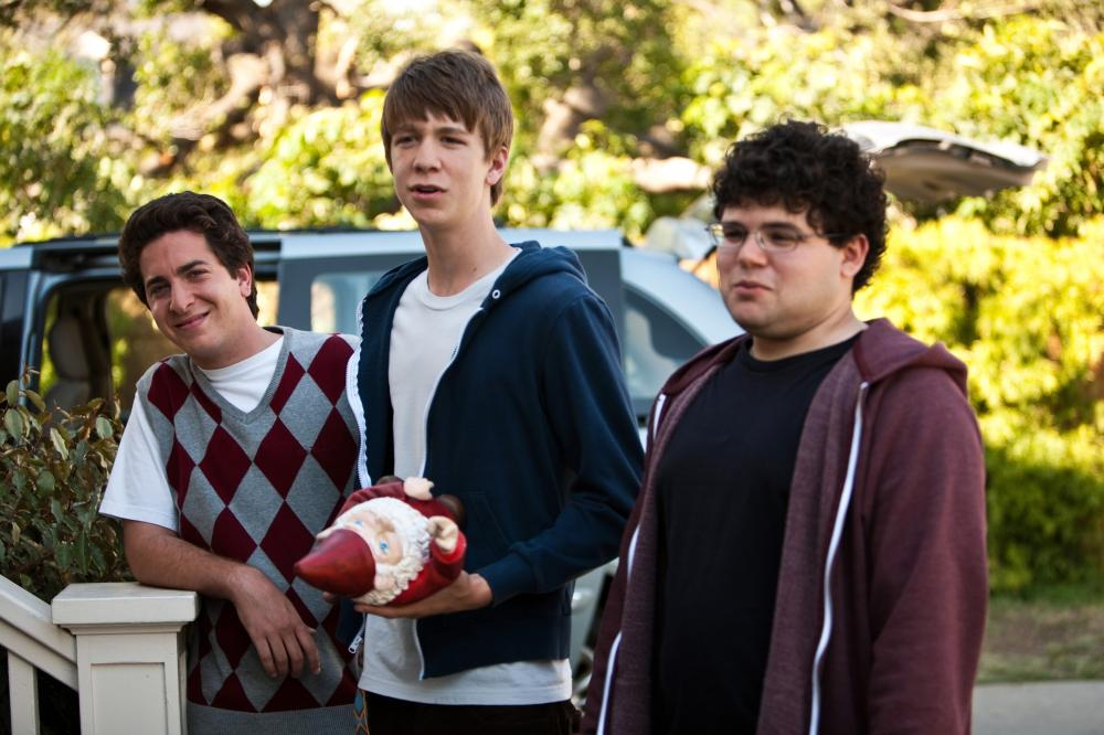 PROJECT X, from left: Oliver Cooper, Thomas Mann, Jonathan Daniel Brown, 2012. ph: Beth Dubber/©Warner Bros.