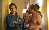 WANDERLUST, from left: Paul Rudd, Joe Lo Truglio, 2012. Ph: Gemma La Mana/©Universal Pictures