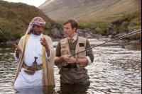SALMON FISHING IN THE YEMEN, from left: Amr Waked, Ewan McGregor, 2011. ph: Laurie Sparham/©CBS Films