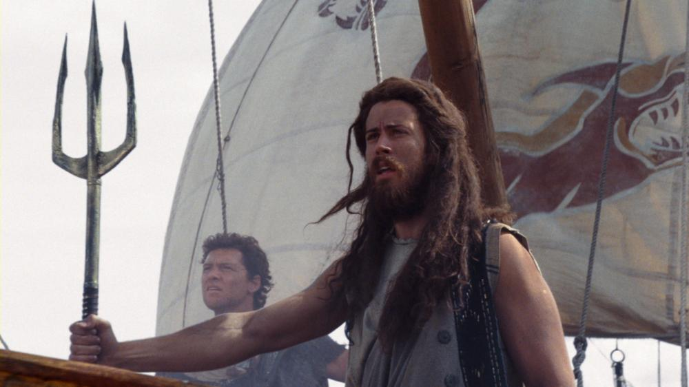 WRATH OF THE TITANS, from left: Sam Worthington, Toby Kebbell, 2012. ©Warner Bros. Pictures.
