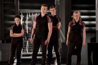 THE HUNGER GAMES, from left: Isabelle Fuhrman, Alexander Ludwig, Jack Quaid, Leven Rambin, 2012. ph: Murray Close/©Lionsgate
