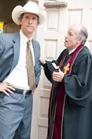 BERNIE, from left: Matthew McConaughey, Larry Jack Dotson, 2012. ph: Van Redin/©Millennium Entertainment