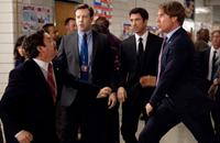THE CAMPAIGN, from left: Zach Galifianakis, Jason Sudeikis, Dylan McDermott, Will Ferrell, 2012. ph: Patti Perret/©Warner Bros. Pictures