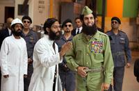 THE DICTATOR, Adeel Akhtar (left), Jason Mantzoukas (front, center), Ben Kingsley (back center), Sacha Baron Cohen (front right), 2012. Ph: Melinda Sue Gordon/©Paramount Pictures