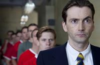UNITED, Jack O'Connell (back), David Tennant (front), 2011. ©Screen Media Films