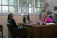 HIT AND RUN, from left: Kristen Bell, Kristin Chenoweth, 2012. ph: Jeffrey Reed/©Open Road Films