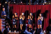 THE SAPPHIRES, from left: Deborah Mailman, Shari Sebbens, Jessica Mauboy, Miranda Tapsell, 2012. Ph: Lisa Tomasetti/©Weinstein Company