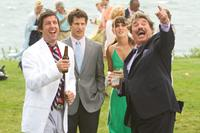 THAT'S MY BOY, from left: Adam Sandler, Andy Samberg, Leighton Meester, Tony Orlando, 2012. ph: Tracy Bennett/©Columbia Pictures