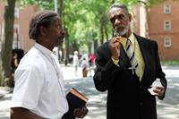 RED HOOK SUMMER, from left: Clarke Peters, Thomas Jefferson Byrd, 2012. ph: Winter Coleman/©Variance Films