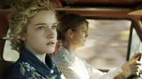 ELECTRICK CHILDREN, from left: Julia Garner, Cynthia Watros, 2012. ©Phase 4 Films