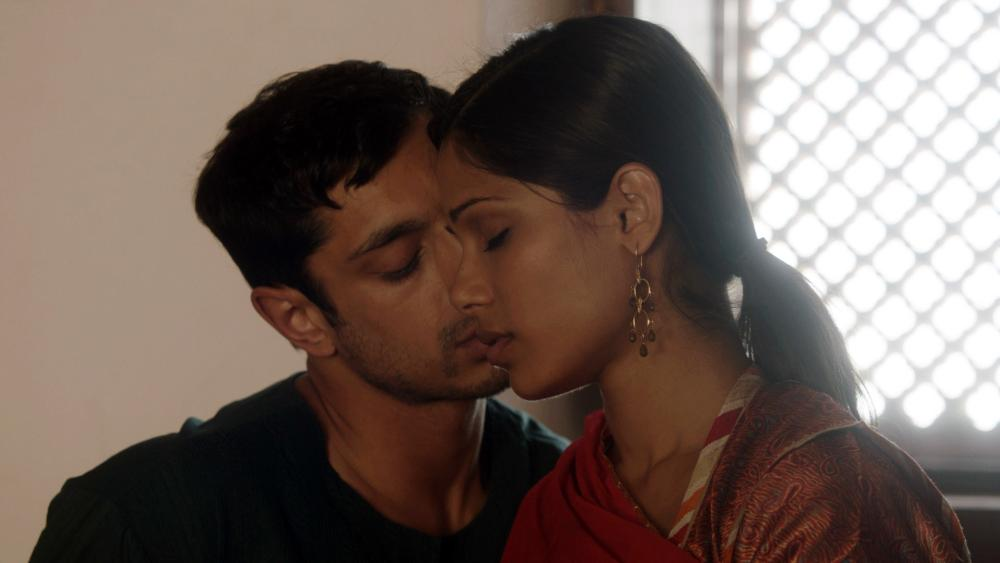 TRISHNA, from left: Riz Ahmed, Freida Pinto, 2011, ©Sundance Selects